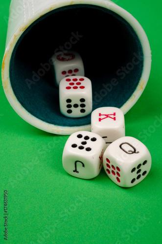 Foto  Gambling conceptual shot