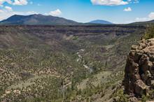 Rio Grande Gorge Near Questa N...