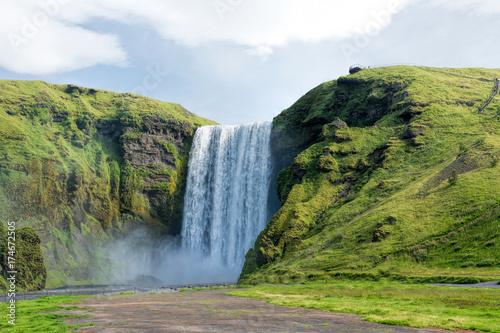 Fototapety, obrazy: Skogafoss falls