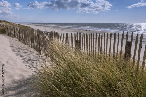 Photo  Les dunes du Marquenterre à Fort-Mahon.