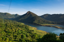 The Randenigala Dam Is A Large...