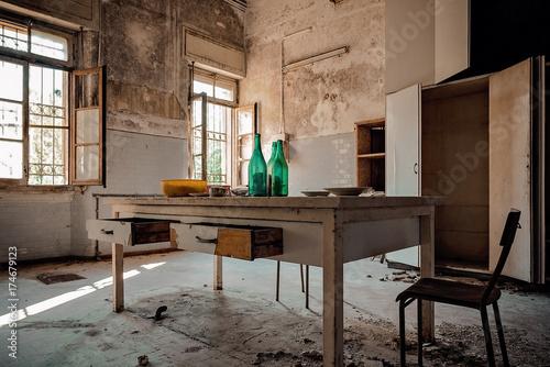 Fotografie, Obraz  Cucina in Abbandono
