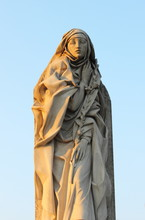 Statue Of St. Catherine Of Sie...