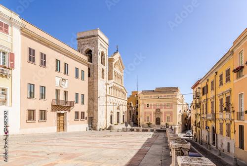 Fototapeta Cagliari, Sardinia, Italy
