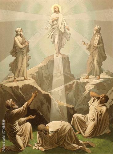 Fotografie, Obraz  The Transfiguration Of Christ.