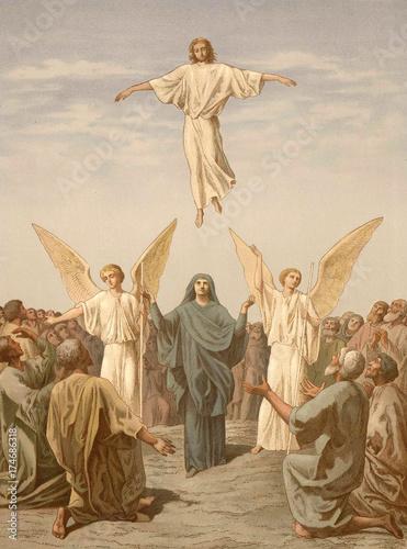 Fotografie, Obraz The Ascension Of The Lord Jesus Christ.