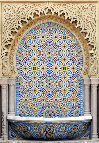 Poster Maroc ARABESQUES TRADITIONNELLES