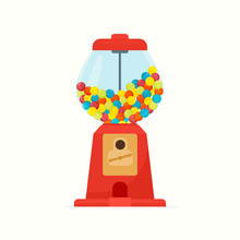Dispenser With Gumball