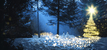 Magic Christmas Tree Winter Wo...