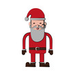 santa claus christmas related icon image vector illustration design