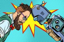 Robot Vs Human, Humanity And T...