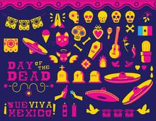 Happy Day Of The Dead Traditio...