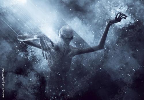 Foto  Demon Monster 3D Illustration