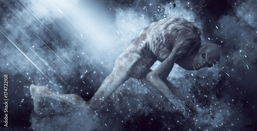 Photo Demon Monster 3D Illustration