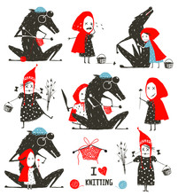 Little Red Riding Hood And Wol...