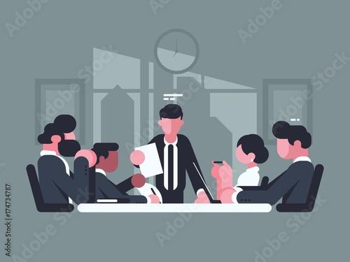 Fotografía  Business meeting in office