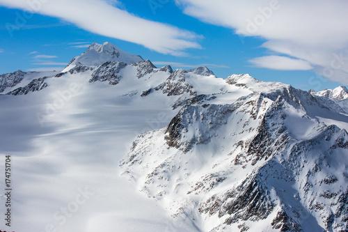 Fotobehang Bergen Wildspitze in Tirol