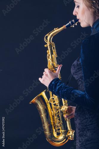 Zdjęcie XXL Saksofon