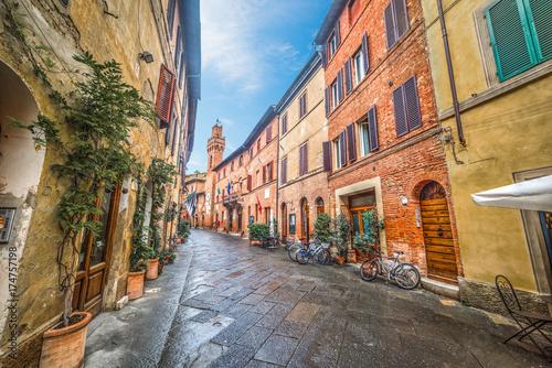 Main street in Buonconvento © Gabriele Maltinti