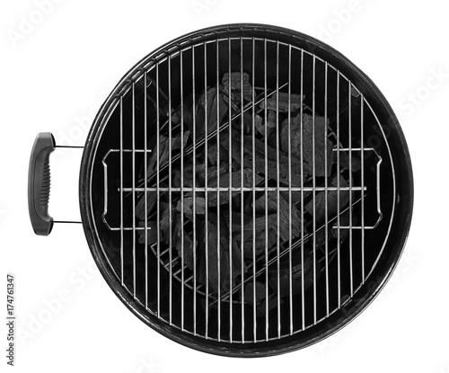 Barbecue grill on white background Fototapeta