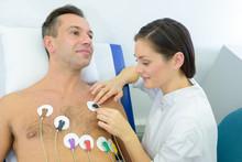 Man To Perform An Electrocardi...