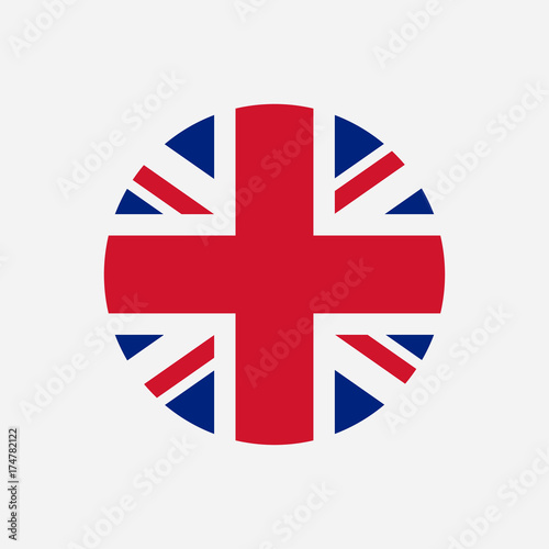 Fotografia, Obraz Great Britain flag