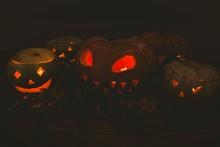 Illuminated Jack O Lanterns Du...