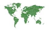 Ecology world map. - 174806533