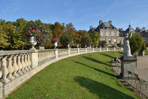 Terrasse Du Jardin Du Luxembourg A Paris France Buy This