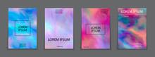 Liquid Color Splash Covers Set...