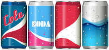 Different Can Designs For Soda...