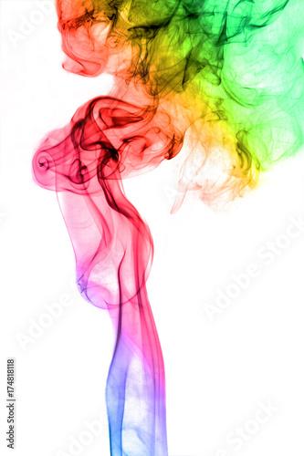 streszczenie-sztuka-kolorowy-dym