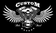 Vintage Engine Of Motorcycle W...
