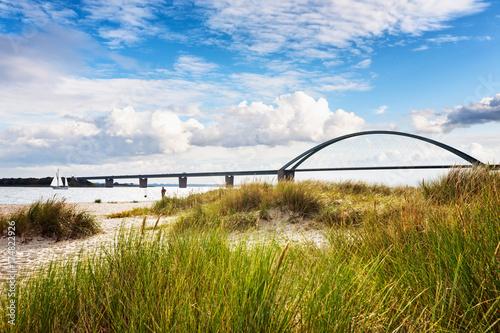 Photo sur Aluminium Pont Fehmarn sound bridge