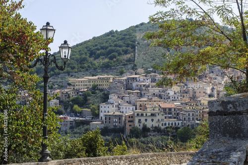 Arpino panorama Lazio Canvas Print