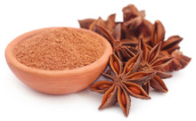 Aromatic Star Anise With Groun...