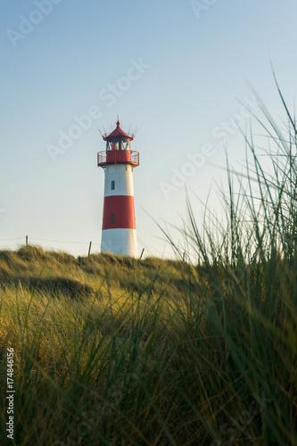 Poster Vuurtoren Lighthouse List - Sylt, Germany
