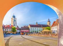 Historical Center Of Sibiu Tow...