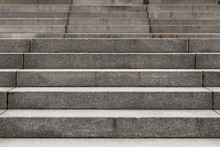 Abstract Modern Concrete Stairs