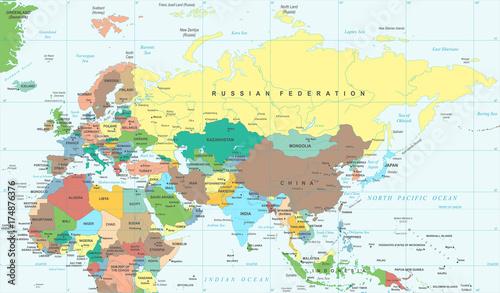 mapa-europy-rosji-chin-indii-indonezji-tajlandii-afryki