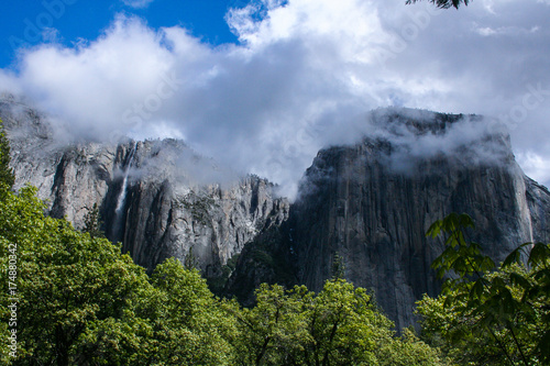 El Capitan In The Clouds Poster
