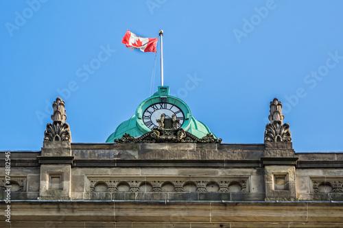 Fototapeta Budynek w stylu renesansowym w stylu św. Wawrzyńca powstał w 1850 roku jako miejsce spotkań publicznych, koncertów i wystaw. Toronto, Ontario, Kanada.