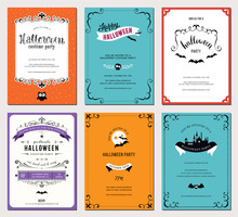 Devices Set Of 6 Halloween Cards.