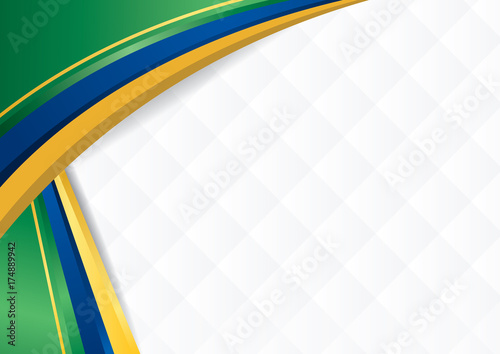 Abstract Background With Shapes With The Colors Of The Flag