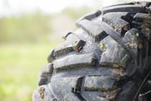 Dirty Protector Tire ATV.