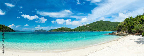 Photo Stands Caribbean Picture perfect beach at Caribbean