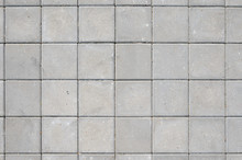 Gray Concrete Square Paving St...