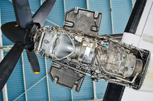 Turboprop Engine Of The Aircra...