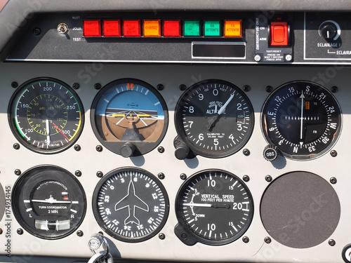 Fotografía  instruments avion de tourisme