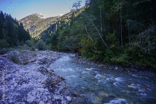Keuken foto achterwand Turkoois A, Vorarlberg, Bregenzerwald, Großes Walsertal, Marul, Blick auf den Walserkamm